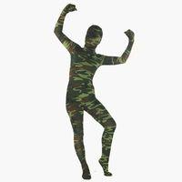 tanzbekleidung fitness großhandel-5 Arten Halloween Kostüme Tier Zentai Kleidung Junge Erwachsene Frauen Camouflage Fitness Anzüge Leistung Dancewear Größe: S-XXL