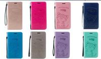 şirin notalar cüzdan kılıfı toptan satış-Kedi Aşk Balık Deri Cüzdan Kılıf Iphone XR Için XS MAX X 10 8 7 6 SE 5 5 S Galaxy Not 9 S9 Artı S8 Emmek Kart Yuvası Sevimli Güzel Kapak Çevirin