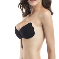 037e7f9aa8aa3 Wholesale 32d push up bra - Seamless Invisible Bra Adhesive Silicone  Backless Bralette Strapless Push Up