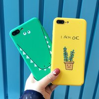 Wholesale green orange plant for sale - Cute Plants Phone Cases For Animals Dog Deer Soft TPU Case For Iphone Plus