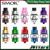 Wholesale King Baby Wholesale - SMOK TFV12 Baby Prince Tank Bulb Glass Tube 4.5ml TFV12 Baby Beast King Atomizer with V8 baby-Q4 T12 Mesh Coils 100% Original