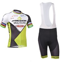 Wholesale merida pro cycling - Crossrider team MERIDA green cycling jerseys mountain bike bib SET MTB Ropa Ciclismo PRO cycling clothing mens bicycle short Maillot Culotte