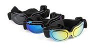 dog sunglasses toptan satış-Whosale Moda Pet Malzemeleri Renkli Köpek Gözlük Güneş Gözlüğü Pet Gözlük Yaratıcı Kişilik Kedi Gözlük Pet Aksesuarları Güneş Gözlüğü ADEDI: 1 adet
