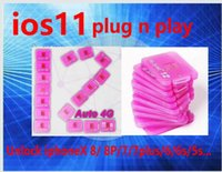 Wholesale 4g adapters - 2018 NEWST Plug n play V9.6.3 RSIM12+ R-SIM 12 unlock ios 11.3.1 perfect Sprint T-MOBILE iphonex 8 7plus i7 6s plus, 6 AU softbank 4G wcdma