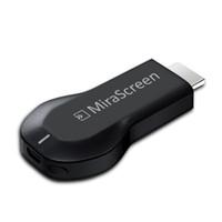 dlna airplay miracast dongle venda por atacado-MiraScreen OTA TV Stick Dongle melhor que EZCAST EasyCast Receptor de Display Wi-Fi DLNA Airplay Miracast Airmirroring Chromecast