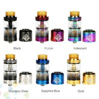 Wholesale Fancy Tops - 100% Original Uwell Fancier RTA & RDA Vape Tank 4ml Capacity 24mm Innovative downward wicking with extra RDA top cap Ecig DHL Free