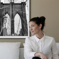 Wholesale Poster Printing London - Simple London Bridge poster wall decoration picture living room bedroom wall sticker