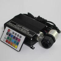 светодиодные двигатели оптовых-16W RGB вело водителя двигателя потолочных освещений звезды оптического волокна +remote ИК 24Key
