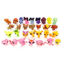 Wholesale gardening set toy - Garden Set Toy Cartoon Littlest Pets Shop Children Lovely Ornaments LPS To Q Pet House Movie Figure Toys 1 5db WW