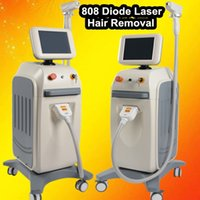 Wholesale Pain Hair - Easy operation diode Laser fast hair removal machine 808 810nm beauty hair laser machines for sale no burns no pain face body removal