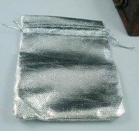 çorap torbaları gümüş toptan satış-Sıcak ! 100 Gümüş Kaplama Gazlı Bez Takı Çanta 7x9 cm / 9x12 cm / 11x16 cm / 13x18cmJewelry Hediye Kılıfı Çanta Düğün Için İpli İpli ile