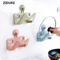 Wholesale Iron Cabinets - Japanese kitchen cabinet hanging type towel rack pumping paper perforation free iron box storage rack