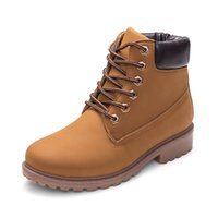 Wholesale Size 45 Boots - 2018 Large Size New Style Autumn and Winter Martin Women Men Boots Shoes Wholesale 11.5 44 45