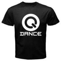 Wholesale electro sound - New Q-DANCE The Sound of Q Electro House Music Men's Black T-Shirt Size S to 3XL