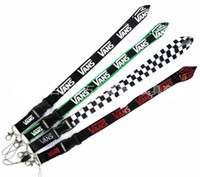 Wholesale new keychain designs resale online - Hot Sell Clothing Design Black Lanyard Keychain with detachable clasp NEW Can Choose Color