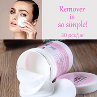 Malian Deep Cleansing Towel Facial Makeup Remover Cleansing Cotton Face Cleansing Wipes for Women 30 Sheets jar