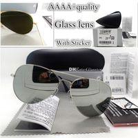 Wholesale sun glasses brand luxury for sale - Group buy Top Quality G15 Glass Lens Men Women Polit Luxury Eyewear Sunglasses UV400 Protection Brand Designer Vintage MM MM Sun Glasses Case Box