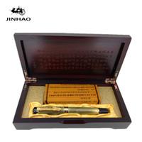 древняя коробка оптовых-Jinhao Ancient Grey Chinese Oriental Dragon Fountain Pen with Original Box Free Shipping