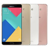 Wholesale unlocked inch 4g android cell phones resale online - Refurbished Original Samsung Galaxy A9 A9000 Dual SIM inch Octa Core GB RAM GB ROM MP G LTE Unlocked Cell Phone DHL