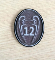 Wholesale trophy wholesale - Trophy 12 times Champions League 2017 real madrid Champion Soccer patch Soccer Badge cloth patches