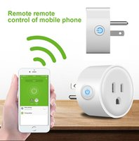 Wholesale Plug Remote - Smart Home WIFI Power Plugs Compatible with Alexa Sonoff Wifi Socket Outlet Automation Phone App Timing Switch Remote Control EU US Plug