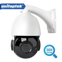 Wholesale Waterproof Ptz Dome Ip Camera - 1080P Outdoor IP Camera PTZ 30X ZOOM Waterproof PTZ Speed Dome Camera H.264 IR-CUT IR 50M P2P CCTV Security Camera IP Onvif