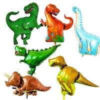 Wholesale balloon for boys toy for sale - Huge Dinosaur Balloon For Kids Birthday Wedding Party Inflatable Air Balloons Decor Gifts Foil Balloon Gifts For Boys Toy