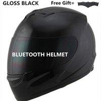 kopfhörer gegensprechanlage großhandel-Motorrad Helm Lautsprecher Bluetooth Intercom Headset, BT Interphone Kommunikationssystem Bluetooth Kopfhörer Anruf Musik