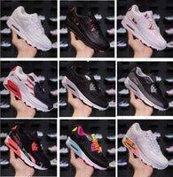 ingrosso lea moda-90 OG designer Classic mens Scarpe da corsa colorate Navy Teal Flair Triple Trainer Sport Medium Olive Bruce Lee Rainbow Fashion Sneakers