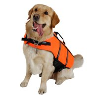 Wholesale small swimwear for sale - New Dog Life Jacket Safty Clothes Pet Saver Life Vest Swimming Preserver Dog Puppy Swimwear Surfing Swimming Vest Pet Supplies