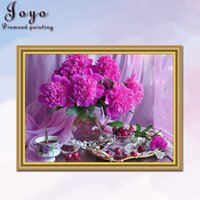 Wholesale abstract vases - Joyo, diy diamondpainting, diamond flowers, home decor, beautiful vases, gifts