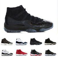 sale retailer 05ada 572c8 Nike Air Jordan 11 Jordans 11s Retro XI Black Out 11s Prom Night Basketballschuhe  11 Gym Red Concord Midnight Navy Schuh Space Jam PRM Heiress Bred Herren ...