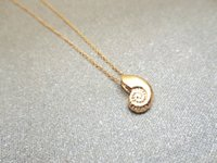 Wholesale gold snail for sale - Group buy snail necklace shell necklace spiral sea snail necklace ocean sea bottom beach fossil conch reptile creature girl men s gift jewelry
