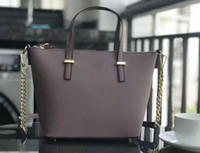 Wholesale cell phone purse strap resale online - Middle size Brand designer women handbags crossbody shoulder bags totes handbag purses with chains straps