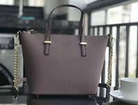 omuz çantası çanta askısı toptan satış-zincirleri askılı Orta boy Marka tasarımcı kadın çanta crossbody omuz çantaları kılıf çanta cüzdan