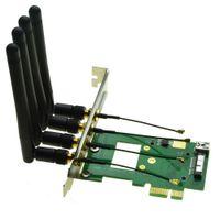 módulo wifi usb al por mayor-BCM94360CD BCM94331CD Adaptador de tarjeta de red inalámbrica PCI-e a 3G bluetooth 4.0 Módulo WIFI para PC de escritorio hackintosh BCM4360