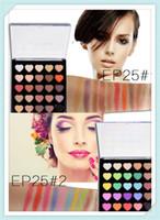 Wholesale mua lipstick - High Quality Matte Earth Color popfeel 25 color eyeshadow ground Color Matte makeup disk E25 cosmetics lipstick mor mua naked lorac 0201012