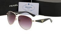 gafas de sol de viento al por mayor-5068 gafas de sol de metal nuevas con gafas de sol liang gemelas para protección contra el viento y protección solar
