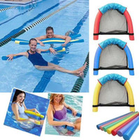 Wholesale pool foam - Swimming Floating Chair 7.5*150cm Water Seat Bed Pool Foam Chair Swimming Pool Float Supplies for Adults Children OOA5331