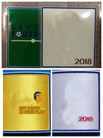 conjuntos de placas al por mayor-la nueva calidad superior 2018 World Cup patches establece insignias, estampado en caliente