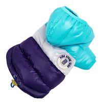 köpek kış kıyafeti toptan satış-Sonbahar / Kış Sıcak Pet Köpek Giysileri Su Geçirmez Köpek Kedi Ceket Ceket Kapşonlu Pamuk Giyim Küçük Hayvanlar Için Chihuahua Köpek Kıyafet
