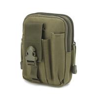 модные кошельки оптовых-Men Canvas Phone Bag Waist Hip Belt Wallet Purse Case Pouch pochete homem