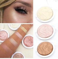 Wholesale Shine Pigment - Miss Rose Brand New Face Cosmetics Long Lasting Pigment White Bronzer Shimmer Shine Contour Baked Highlighters Makeup