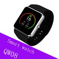 электронная почта google android оптовых-QW08 GT08 плюс Android мобильный телефон смарт-часы MTK6572 двухъядерный с SIM-карты камеры GPS Wifi WCDMA 3G google play магазин поддержка whatsapp