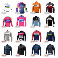Wholesale lampre team clothes online - Morvelo LAMPRE team Cycling Winter Thermal Fleece jersey Outdoor Cycling Clothing ropa ciclismo hombre MTB Sportwear F0210