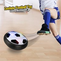 Wholesale toys amazing online - Amazing Kids Toys Hover Soccer Ball with Colorful LED Light Boys Girls Children Toys Training Football for Indoor Outdoor with Parents Game