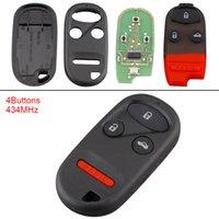 chave para honda venda por atacado-434MHz 3 botões Keyless Virar Uncut remoto Key Fob A269ZUA101 para 1997-2009 Honda KEY_11K
