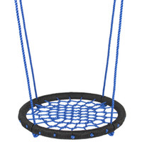 Wholesale 24 quot Web Swing Playground Tree Outdoor Hanging Play Slide Seat Nylon Net Rope