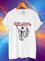ingrosso zanne animali-Red Fang Album Logo Animal Savage Metal T-Shirt nuovo