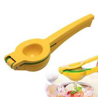 elle limon sıkacakları toptan satış-Çift Katmanlı Limon Kireç Sıkacağı Portakal Aracı Manuel Narenciye Sıkacağı Manuel Kireç Suyu Üreticisi Mutfak Alet